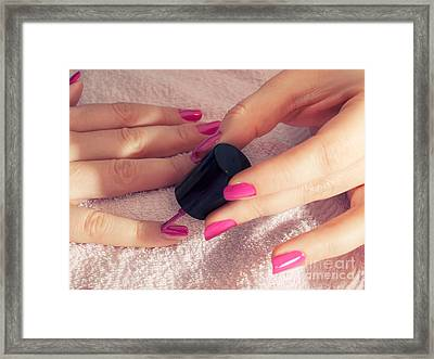Manicure Framed Print by Sinisa Botas