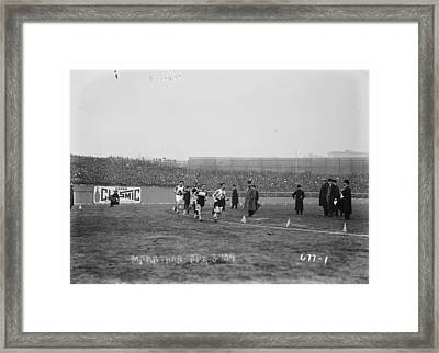 Marathon Race, 1909 Framed Print by Granger
