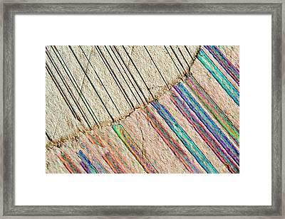 Marble Framed Print