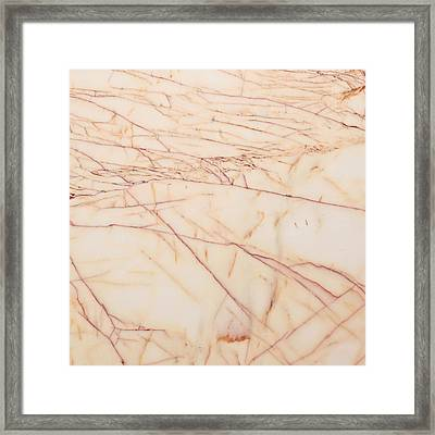 Marble Background Framed Print by Tom Gowanlock
