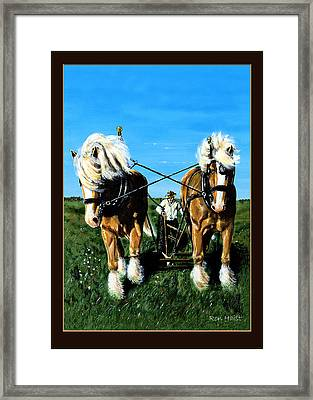 March Break Framed Print
