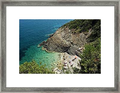 Marciana Marina, Isola D'elba, Elba Framed Print