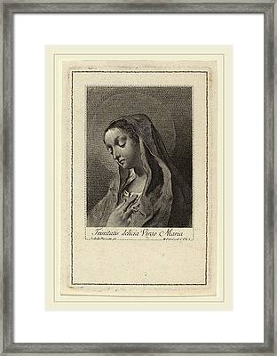 Marco Alvise Pitteri After Giovanni Battista Piazzetta Framed Print by Litz Collection