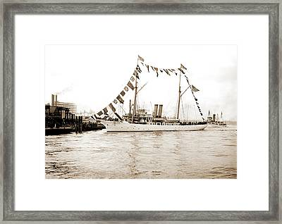Mardi Gras, New Orleans Framed Print by Litz Collection