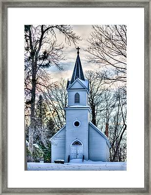 Maria Chapel Framed Print by Paul Freidlund