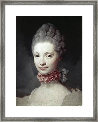 Maria Luisa Of Parma (1751-1819) Framed Print