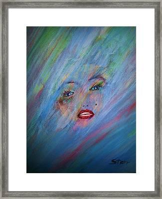 Marilyn Framed Print by Irving Starr