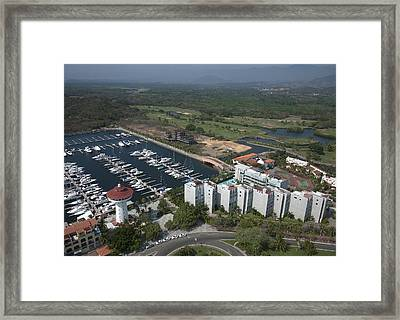 Marina Ixtapa,  Playa El Palmar, Ixtapa Framed Print