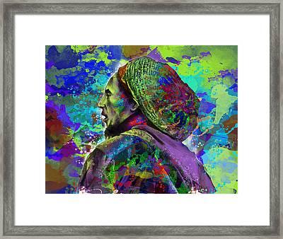 Marley 8 Framed Print