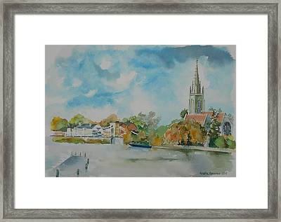 Marlow On Thames Framed Print