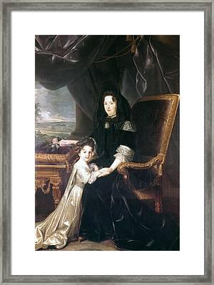 Marquise De Maintenon (1635-1719) Framed Print by Granger