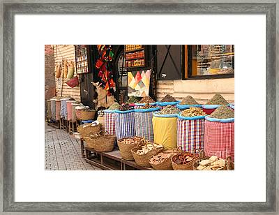 Marrakesh Morocco Framed Print by Sophie Vigneault