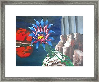 Mars Rising Framed Print by Richard Dotson
