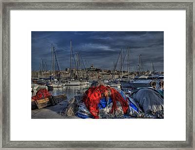 Marseille Framed Print by Karim SAARI
