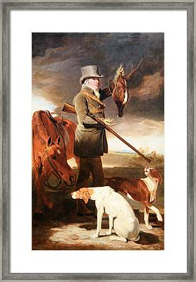 Marshall's J G Shaddick -- The Celebrated Sportsman Framed Print