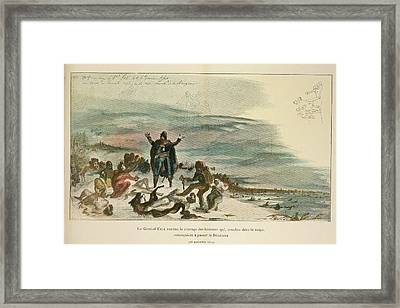 Marshals Oudinot And Victor Framed Print