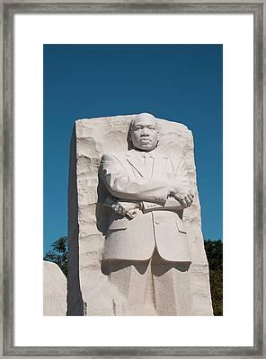 Martin Luther King Jr Memorial Framed Print