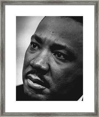 Martin Luther King Framed Print by Retro Images Archive