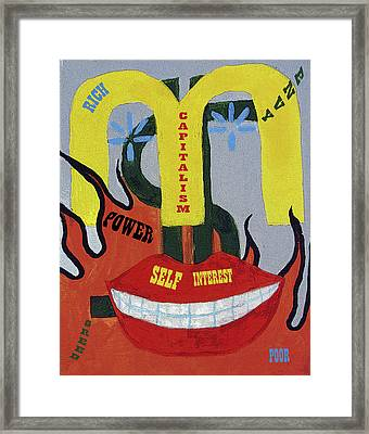 #1 Framed Print by Mary Ely