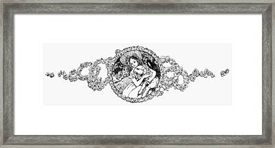 Mary Had A Little Lamb Framed Print by Granger