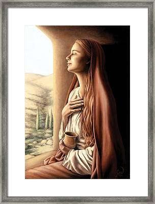 Mary Magdalene Framed Print by Jonathan Weber