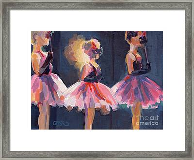Masquerade Framed Print by Kimberly Santini