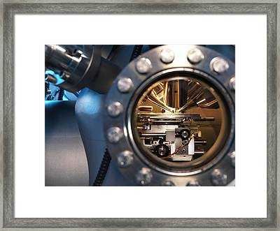 Mass Spectrometer Framed Print by Andrew Brookes, National Physical Laboratory