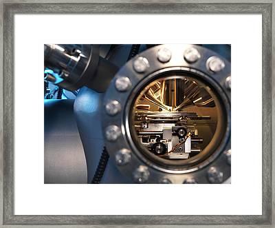 Mass Spectrometer Framed Print
