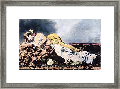 Mata Hari (1876-1917) Framed Print by Granger