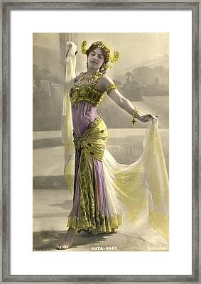 Mata Hari Framed Print by Collection Abecasis