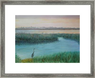 Matanzas River Morning Framed Print