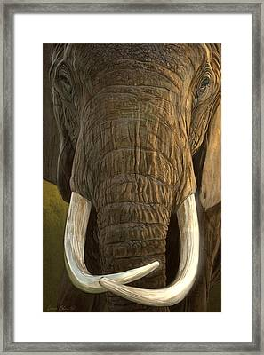 Matriarch 2 Framed Print by Aaron Blaise