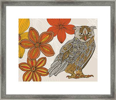 Matt The Owl Framed Print