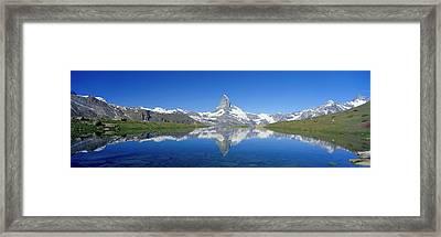 Matterhorn Zermatt Switzerland Framed Print
