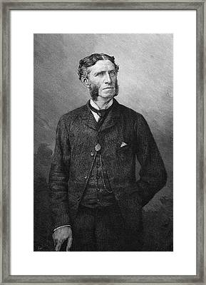 Matthew Arnold  Writer And Critic Framed Print by Mary Evans Picture Library