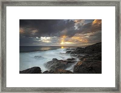 Maui Seascape Framed Print