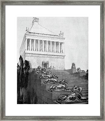 Mausoleum At Halicarnassus Framed Print