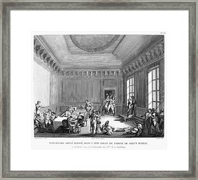 Maximilien Robespierre (1758-1794) Framed Print
