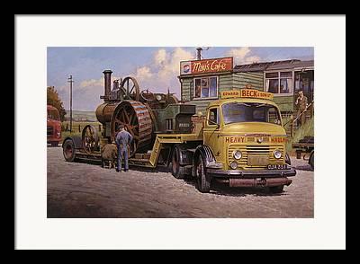 Transportart Framed Prints