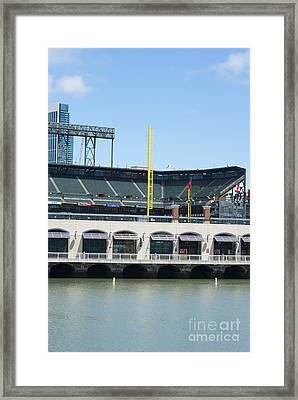 Mc Covey's Cove And 2014 World Series Framed Print