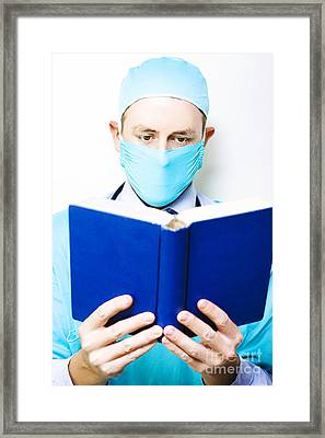 Medical Research And Study Framed Print by Jorgo Photography - Wall Art Gallery
