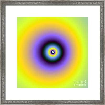 Meditation On A Point Framed Print