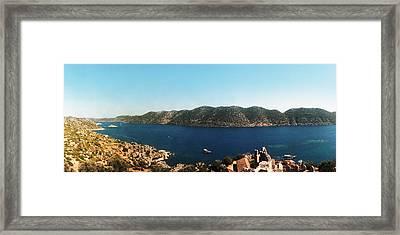 Mediterranean Sea Viewed Framed Print