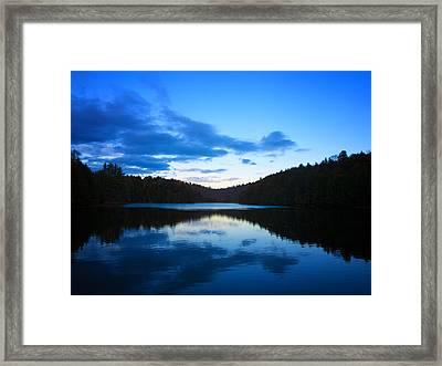 Meech Lake Framed Print