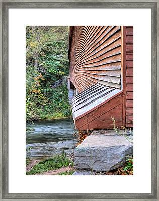 Meems Bottom Framed Print by JC Findley