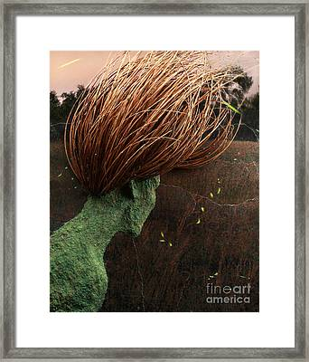 The Gathering Framed Print by Adam Long