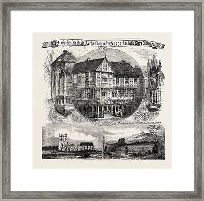 Meeting Of The British Archaeological Association Framed Print by English School