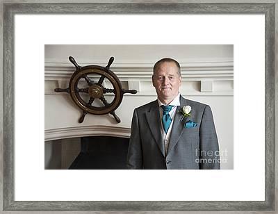 Mel's Wedding Framed Print by Donald Davis