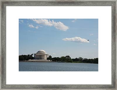 Memorial By The Water Framed Print