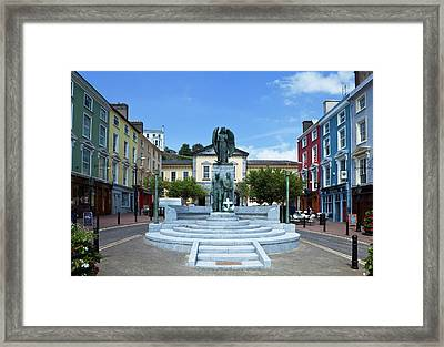 Memorial To Those Who Died Framed Print